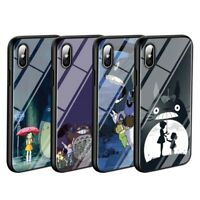 My Neighbor Totoro Anime Case iPhone 5 6 6S 7 8 + X XR XS 11 Pro Max SE 2nd gen