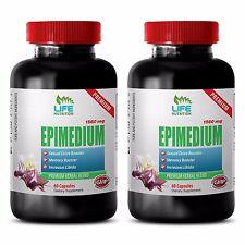 Effective Libido Enhancer - Epimedium 1560mg - Horny Goat Weed 2B