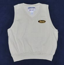 Iowa Hawkeyes Vest Sweatshirt Men's Medium M Beige CHAMPION Football Basketball