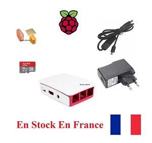 Kit Raspberry Pi Starter kit chargeur micro SD dissipateur