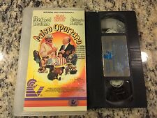 AVISO OPORTUNO RARE OOP VHS 1997 SPANISH RAFAEL INCLAN, ALFREDO SOLARES ACTION!