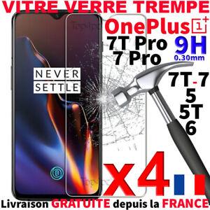 PROTECTION ECRAN VITRE VERRE TREMPE POUR ONEPLUS 6 7T PRO 5 / SCREEN GLASS COVER