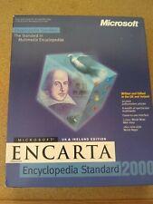 MICROSOFT ENCARTA 2000  ENCYCLOPEDIA standard 1-DISC Pc