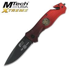 MTech USA XTREME Fire Fighter Taschenmesser Rettungsmesser MX-8029