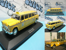 Coche, car, voiture táxi  Checker Aerobus  1974  NEW YORK (USA)  1:43 Ixo/Altaya