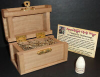 Civil War Bullet with Display Chest! Battle of Chattanooga, Tennessee, Nov 1863!