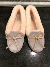 Women's UGG Solana Gray Seal Loafers-Size 5-MSRP $100- #1020041