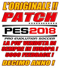 ORIGINAL PATCH PES 2018 PS4 - OPTION FILE - PES 100% ORIGINAL- BEST SELLER !!!