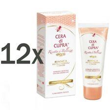 CERA di CUPRA Bianca Hautcreme normale & fettige Haut 12x 75ml mit Bienenwachs