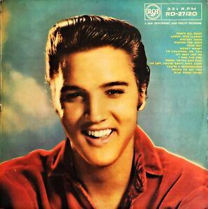 Elvis Presley - ELVIS Self Titled 1959 Vinyl LP UK MONO