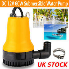 More details for 6800l/h submersible water pump clean clear dirty pool pond flood tool dc 12v 60w