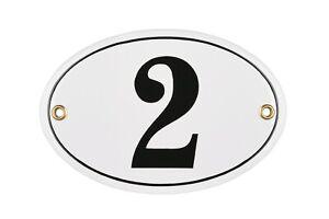 Porcelain address plaque 4x6″ customisable handcrafted enamel house number sign