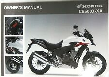 Manual de Usuario Owner's Manual Honda CB500X/XA 00X32-MGZ-C020