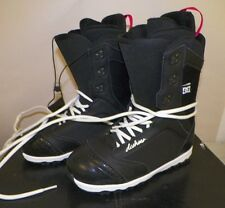 WOMEN'S DC SNOWBOARD BOOTS BLACK KARMA 2013 SIZE 8 1/2 USED ONCE