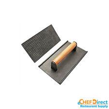 "8""x4"" Cast iron Steak Weight / Bacon Press, Heavy Duty Commercial Grade"
