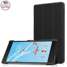 """For Lenovo Tab4 8"""" Android Tablet 2017 Leather Case Folio Tri-Fold Flip Cover"""