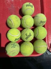 """Tennis Balls 10 Preowned """"For Beyond Tennis Court Use� $9.99/obo + S&H"""