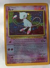 Carte Pokémon réplique Mew promo 9 no holo