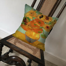 Vincent Van gogh Sunflowers - Covers Pillow Cases Home Decor or Inner