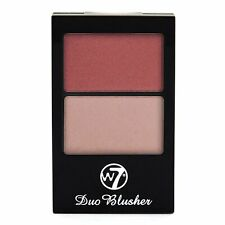 W7 Duo Blusher Blush, Pressed Powder Compact Palette 02 New