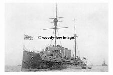 rp17862 - Royal Navy Warship - HMS Warrior , built 1907 lost 1916 - photo 6x4