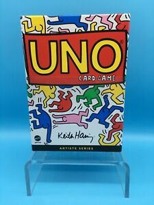 KEITH HARING Artist Edition UNO CARD GAME • #2 in a Series • U.S. Seller • NEW!