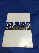 The Beatles Japan tour book 1966 original not reproduction w/o photo