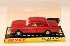 Dinky Toys 158 Rolls Royce Silver Shadow very near mint in box all original