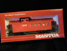 MANTUA ** OLD TIME WEST **  DROVERS CABOOSE Central Pacific HO Scale Train *NEW*