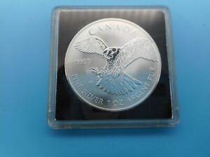 5 Dollar 2014  Canada  Silber 1 Unze  Silver .9999 1oz in Kapsel