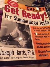 Get Ready! Standardized Tests Grade 1 by Joseph Harris PhD