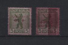 Localmente storkow 2 K, 2 dd y 7 con presionando y grasas inscripciones post frescos (b07402)