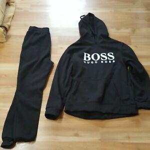 HUGO BOSS Herren Trainingsanzug Set Hoodie Trainingshose Gr M