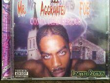 MR AGGRAVATED FOE Comin Dead Serious 2002 RARE Fort Worth Texas underground Rap