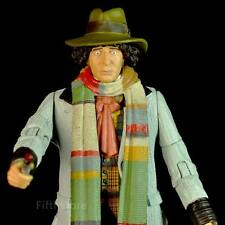 "5"" Doctor Who Fourth 4th Doctor Tom Baker With Sonic Screwdriver Accessory"