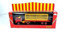 Vintage Verem #803 Circus Yellow 1:43 O Scale Diecast Rare Model Truck Trailer