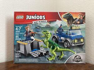Lego Juniors - Jurassic World: Raptor Rescue Truck 10757 - NEW IN BOX!