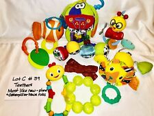 Baby Toys Teething Rattles Lot C #39