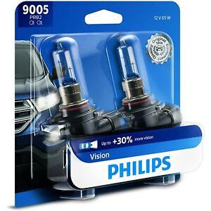 9005PRB2 Philips New Head Light Driving Headlamp Headlight Bulbs Set of 2 Pair