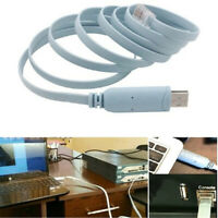 6FT USB to RJ45 Console Adapter Cable for Routers FTDI
