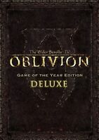 The Elder Scrolls IV 4 Oblivion GOTY Edition Deluxe PC Steam KEY Region Free