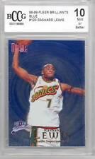 1998-99 Fleer Brilliants (Blue) Rashard Lewis (Rookie Card) (#120) BCCG10 BCCG