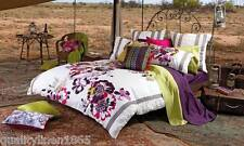DOUBLE KAS Eloise Plum Quilt Cover Set 250 TC 100% COTTON SATEEN