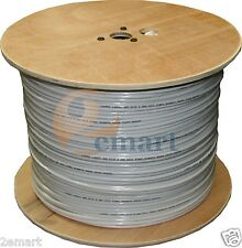 1roll RG59 Siamese CCTV Cable Video & Power  1000FT Outdoor/Indoor
