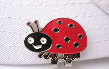 Lady Bug Golf Ball Marker - W/Bonus Magnetic Hat Clip