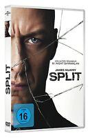 SPLIT - MCAVOY,JAMES/DIRECTOR,KIM/+  DVD NEU