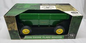 John Deere Flare Box Wagon 1/8 Scale Models Ertl Large Farm Toy