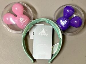 Disney Parks Mickey Balloons Pink Purple 2021 WDW Light Up Mouse Ears Headband