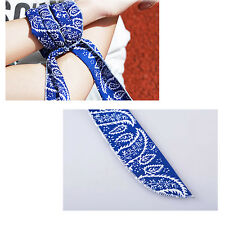 Hot Summer Neck Cooler Scarf Body Ice Cool Cooling Wrap Necktie Sport Headband