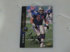 Todd Collins Autographed Hand Signed Card New England Patriots Upper Deck